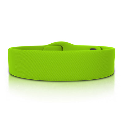 ROAD iD Bracelet 19mm Replacement Band Lime Pin Tuck