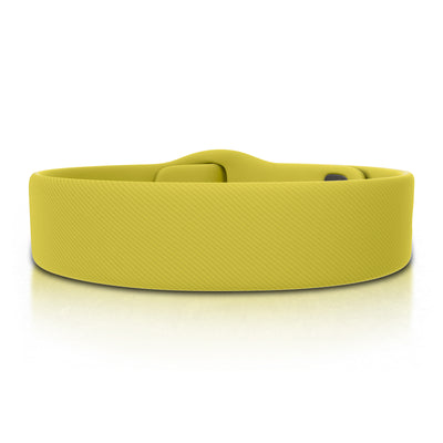 ROAD iD Bracelet 19mm Replacement Band Yellow Pin Tuck