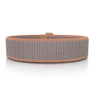 ROAD iD Bracelet 19mm Replacement Band Rose Gold on Sand Nylon Loop