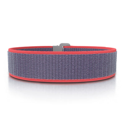 ROAD iD Bracelet 19mm Replacement Band Slate on Coral Nylon Loop