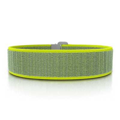 ROAD iD Bracelet 19mm Replacement Band Slate on Neon Nylon Loop