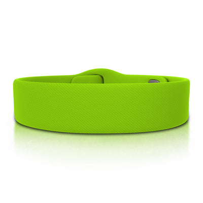 ROAD iD Replacement Band 19mm Lime Pin Tuck