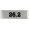 19mm Slate 26.2 Marathon Badge for ROAD iD