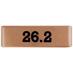 19mm Rose Gold Medical Alert Badge for ROAD iD