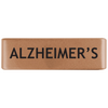19mm Rose Gold Alzheimer's Badge for ROAD iD