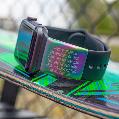 Limited Edition Prism Apple Watch ID