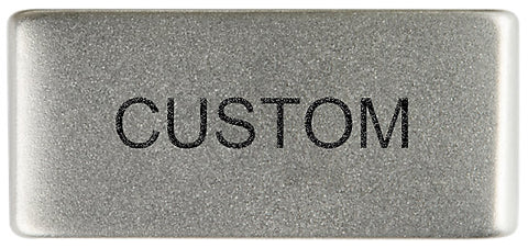 Custom Badge Slate 13mm