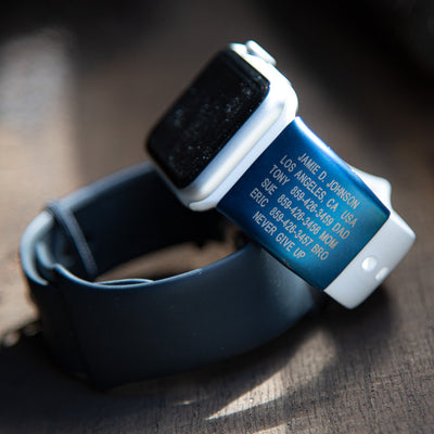 Limited Edition Cobalt Apple Watch ID