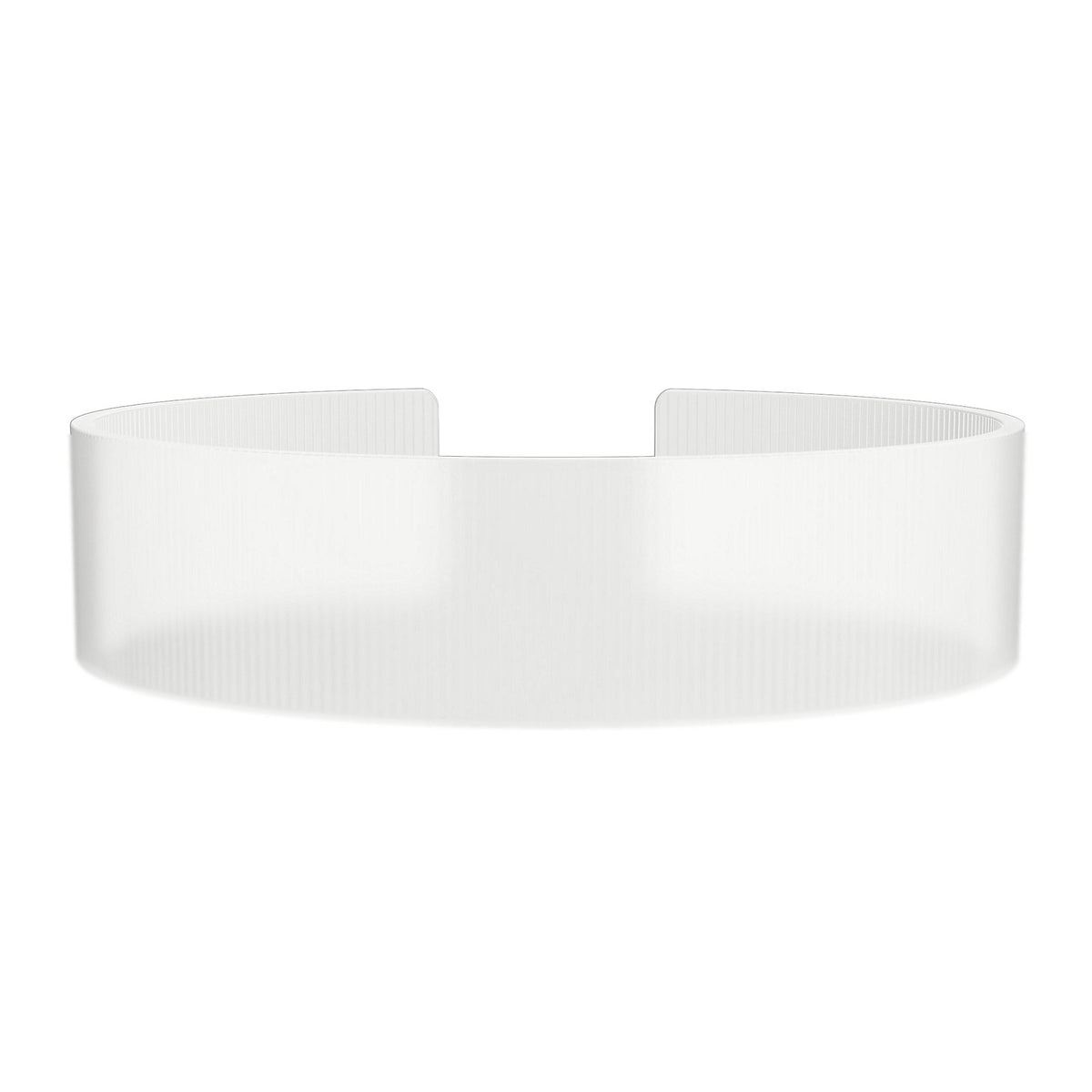 ROAD iD Replacement Band 19mm Clear Silicone Clasp