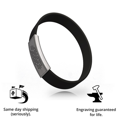 Wrist ID Stretch 13mm Rugged