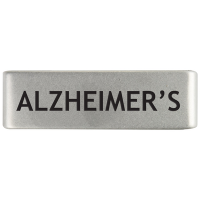 19mm Slate Alzheimer's Badge for ROAD iD