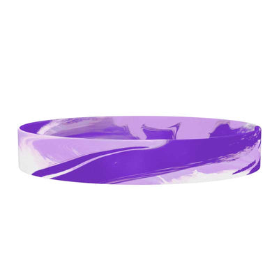 ROAD iD 13mm Replacement Band Amethyst Stretch
