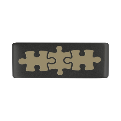 13mm Graphite Autism Puzzle Badge for ROAD iD