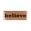 13mm Rose Gold Believe Badge for ROAD iD