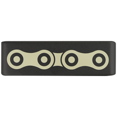 19mm Graphite Medical Alert Badge for ROAD iD