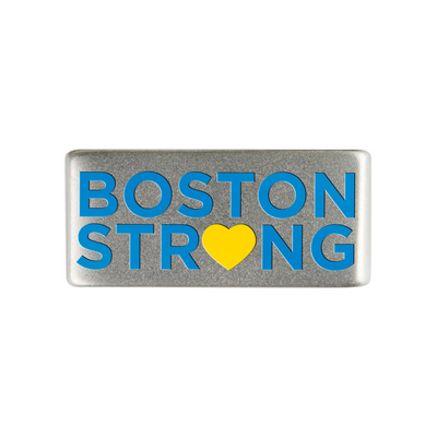 13mm Slate Boston Strong Badge for ROAD iD