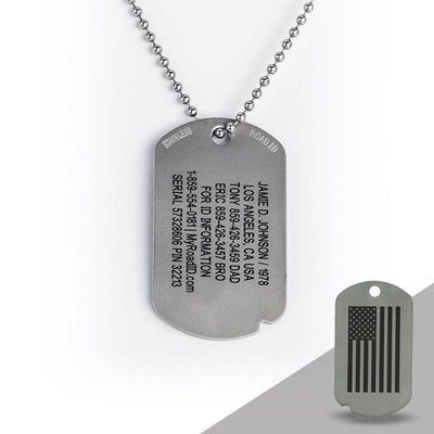 THE FIXX ID DOG TAG
