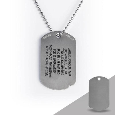 FIXX ID Dog Tag with Online Profile