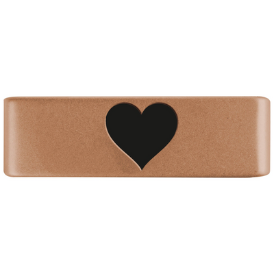 19mm Rose Gold Heart Badge for ROAD iD