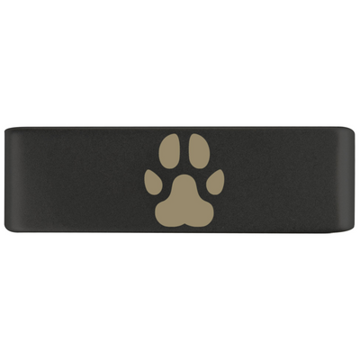 19mm Graphite Paw Badge for ROAD iD