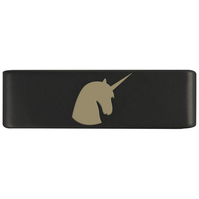 19mm Graphite Unicorn Badge for ROAD iD