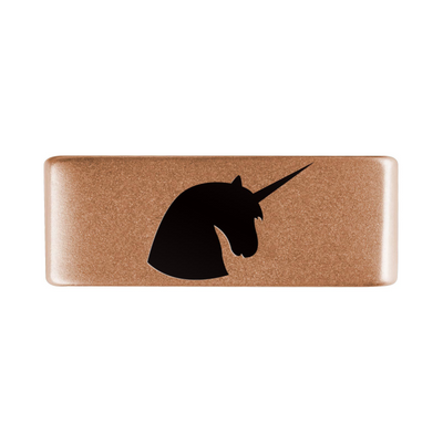 13mm Rose Gold Unicorn Badge for ROAD iD