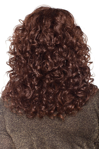 Curly texture wig