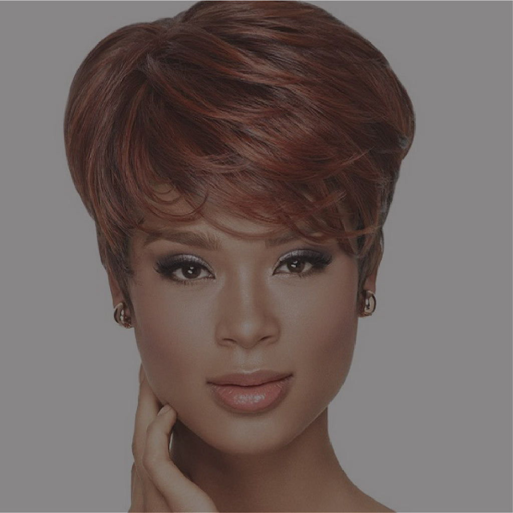 Short Sassy wigs for black women