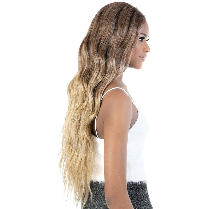 LS137.Kiss - Super Long Length Wavy Synthetic Wig | Motown Tress
