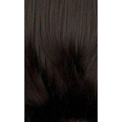 LS137.Blue - Medium Length Straight Synthetic Wig | Motown Tress