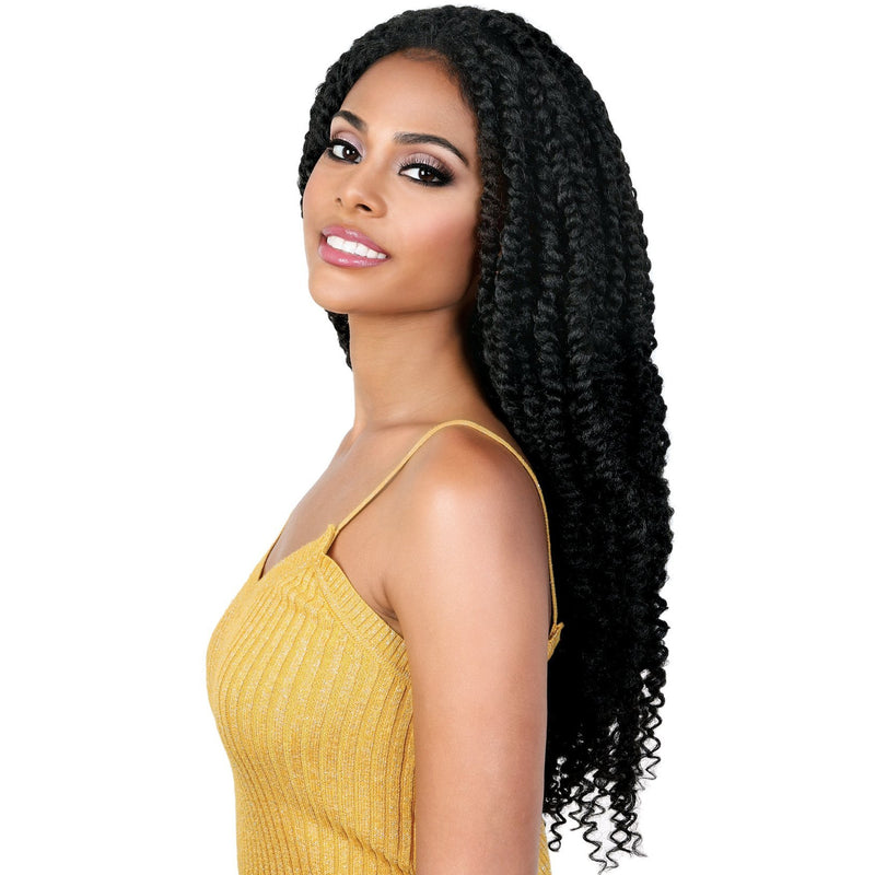 L.PASSION7 Braided Wig | African American Wigs