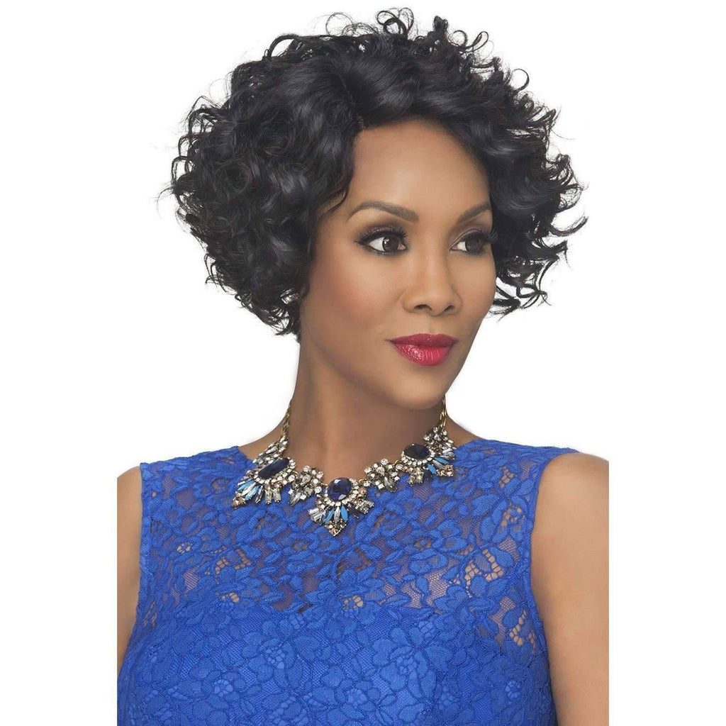 ACURA | Synthetic Heat Resistant Fiber Wig (Lace Front Traditional Cap) - African American Wigs