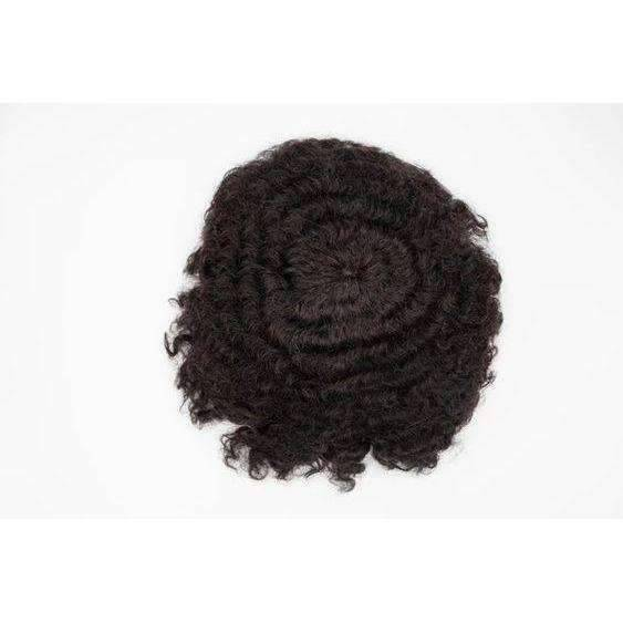 Afro Cuban Wave Man Toupee | Man Weave - African American Wigs