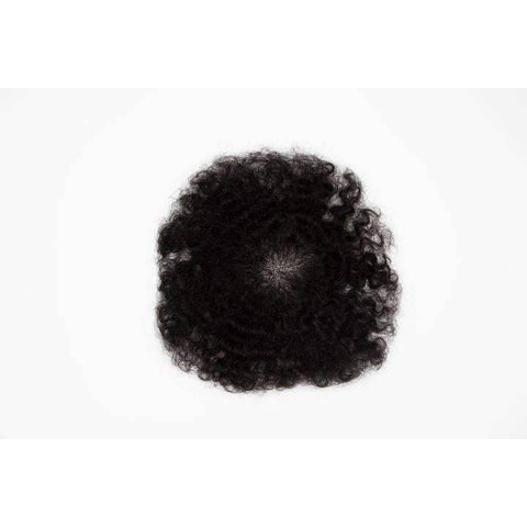 Image of Afro Kinky Topper Man Toupee | Man Weave - African American Wigs
