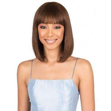 Allie | Medium Bob 100% Remi Human Hair Wig |  Bobbi Boss Wig - African American Wigs