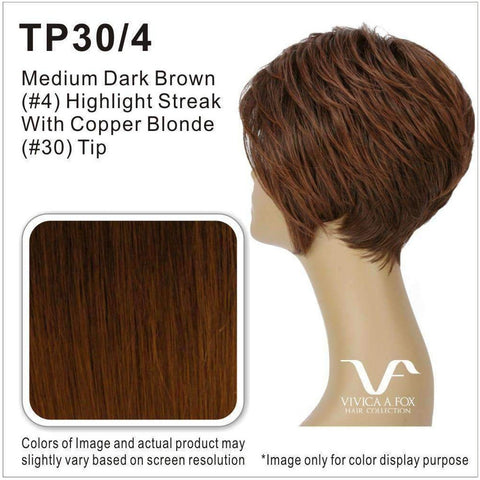 AMY-V | Synthetic Wig (Traditional Cap) - African American Wigs