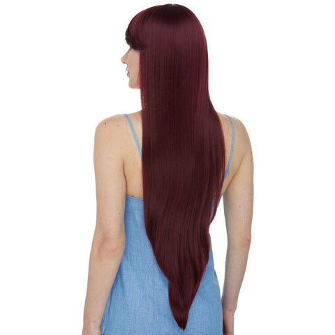 "Image of Aphrodite | 26"" Long Synthetic Wig with Bangs - African American Wigs"