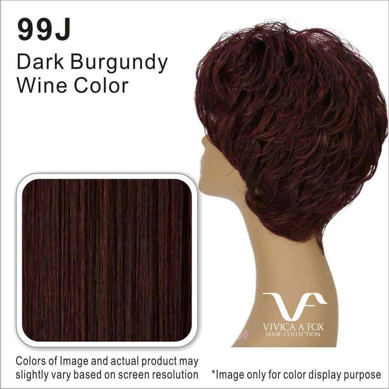 AQUA-V | Synthetic Heat Resistant Fiber Wig (Lace Front Traditional Cap) Color FS4/27 - African American Wigs