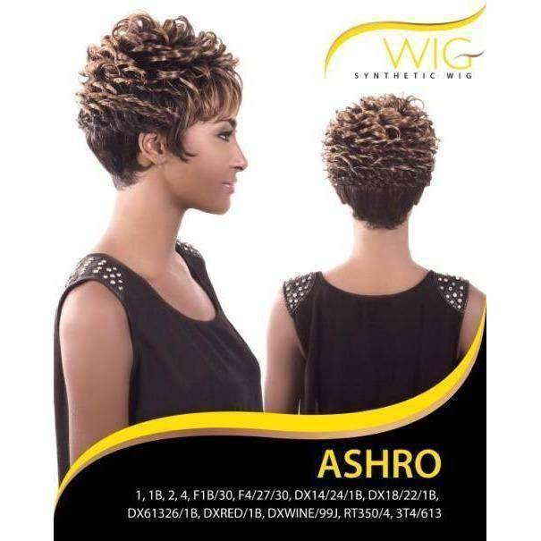 ASHRO | Synthetic Wig (Traditional Cap) - African American Wigs