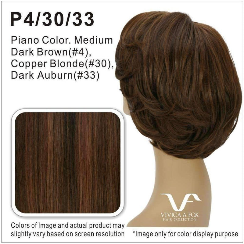 AUTUMN-V | Synthetic Wig (Traditional Cap) - African American Wigs