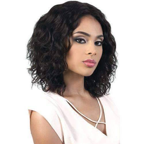 BECA-Persian Remy Human Hair Swiss Part Front Wig Motown Tress - African American Wigs