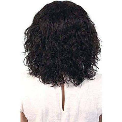 Image of BECA-Persian Remy Human Hair Swiss Part Front Wig Motown Tress - African American Wigs