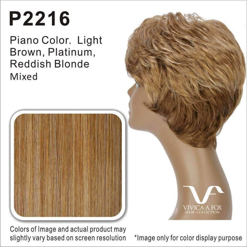 Bobbi | Heat Friendly Synthetic Wig (Traditional Cap) - African American Wigs