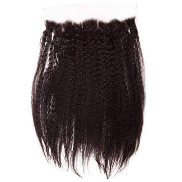 Brazilian Kinky Straight Lace Frontal - African American Wigs