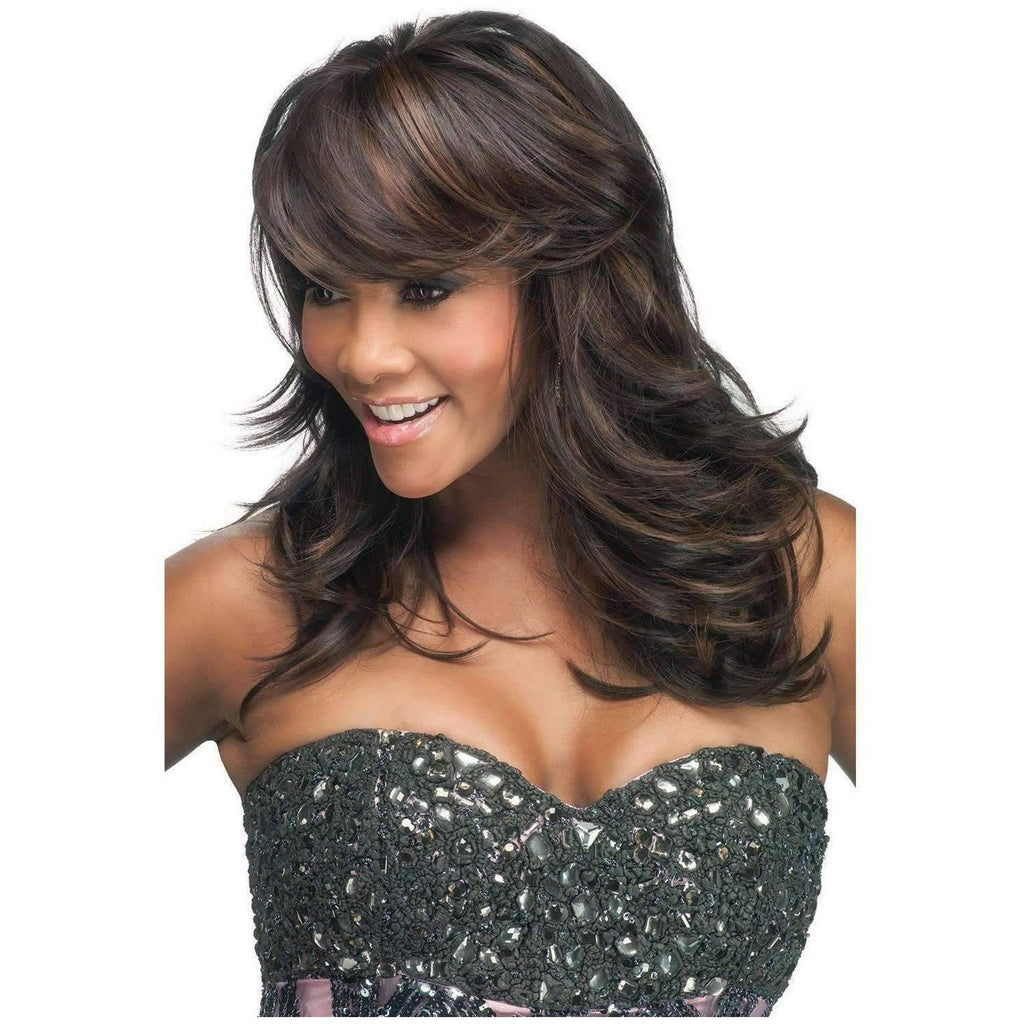 BRIE-V | Heat Resistant Synthetic Wig (Traditional Cap) FS4/30 Color - African American Wigs