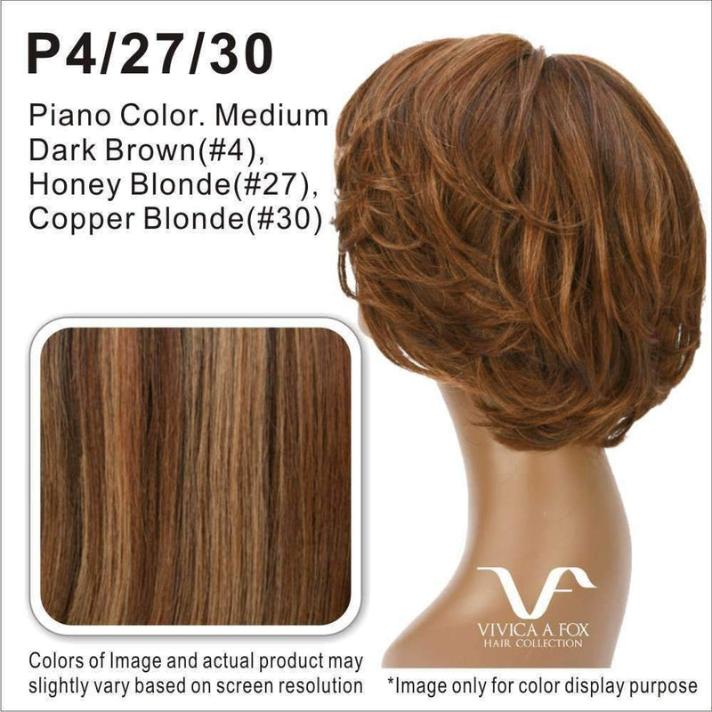 BRIGHT-V | Synthetic Heat Resistant Fiber Wig (Lace Front Traditional Cap) - African American Wigs