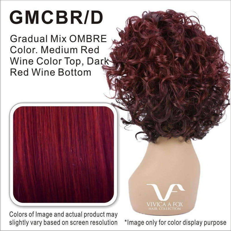 CANDI-V  Synthetic Combination of Spiral Curl  Wig - Vivica Fox - African American Wigs