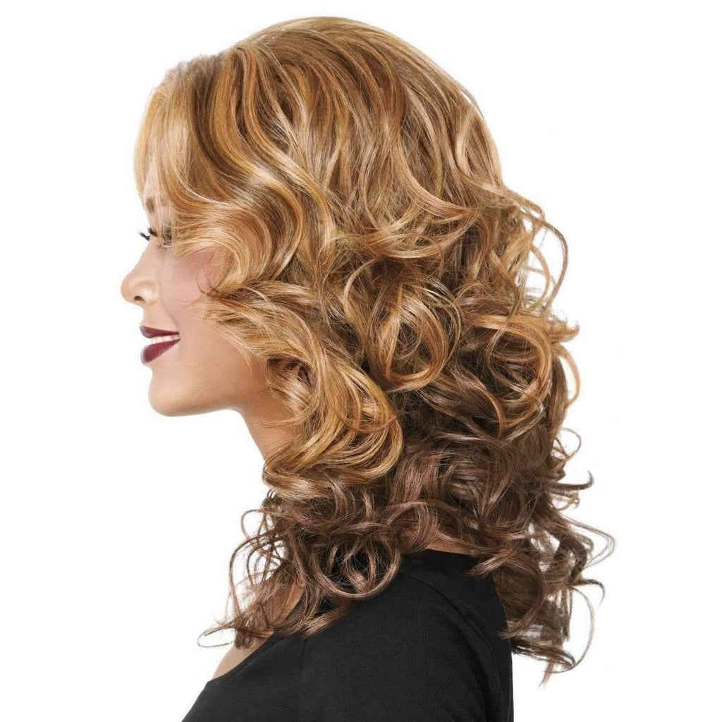 CASUAL CURL | Sherri Shepherd Lace Front Synthetic Wig - African American Wigs