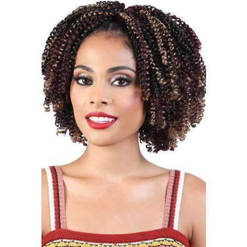 "C.COIL76 - 7"" X 6 Pack Crochet Featherlite Spring Coil Curl  