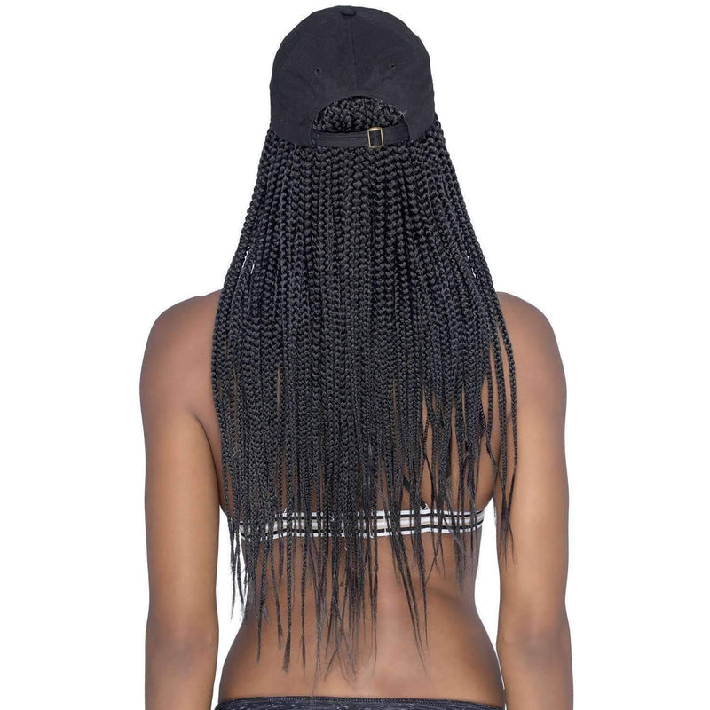 CD-BRAY | Capdo Box Braid Hairpiece with Cap - African American Wigs